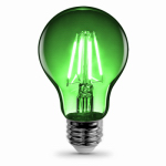 Feit Electric A19/TG/LED LED Light Bulb, Green, 3.6-Watts,