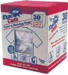 Intex Supply W-30005 30-Count 14 x 16-Inch Paint & Stain Rags