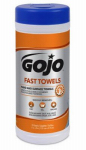 Gojo Industries 6282-06 Fast Wipes Hand Towels, 25-Ct.