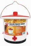 Farm Innovators HB-60P Heated Poultry Drinker, 2-Gal.