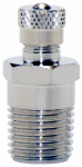 Water Source AV25 Air Valve, Chrome & Zinc-Plated, 1/4-In.