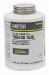 William H Harvey 025230 16-oz. Yellow Formula 55 Thread Seal
