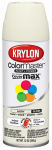 Krylon Diversified Brands K05150402 Colormaster Spray Paint, Indoor/Outdoor Use, Gloss Ivory, 12-oz.