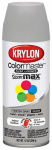 Krylon 51606 12 OZ Pewter Gray Gloss Enamel Spray Paint