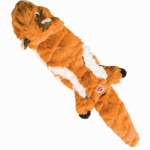 Ethical Products 54218 Quilted Chipmunk Stuffing-Free Dog Toy, 14-In.