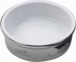 Ethical Products 6827 Ceramic Cat Dish, Titanium Color, 5-In.