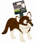 European Home Designs ES22 Red Wolf Dog Toy