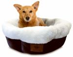 European Home Designs AKC3806 High-Wall Dog Bed, 31-In. Diam.