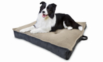 European Home Designs AKC6936 Jumbo Extra-Dense Pet Bed, Square, 36-In.