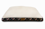 European Home Designs AKC9363 Gusseted Pet Bed, Large, 27 x 36-In.