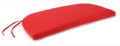 Jordan Manufacturing 9358-2569D Uptown Bench Cushion, Red, 1
