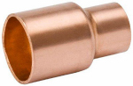 B&K W 61019 3/8 x 1/4-Inch Wrot Copper Coupling With Stop