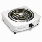 Hamilton Beach Brands 34101P Cooking Range, Single-Burner, Portable, 1000-Watt