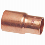 Mueller Industries W 61326 Wrot Copper Fitting Reducer, Fitting x Copper, 3/4 x 1/2-In.