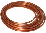 B&K D 06020P Copper Refrigerator Tube, 0.375-In. O.D. x 20-Ft.