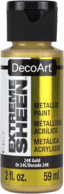 DPM04-30 Extreme Sheen Premium Metallic Craft Paint, 24K Gol