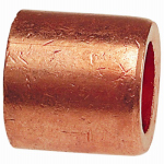 B&K W 61726 Pipe Fitting, Wrot Copper Flush Bushing, 3/4 x 1/2-In.