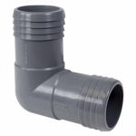 Genova Products 350715 1-1/2 Poly Insert Elbow