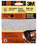 3M 9172 4-Pk., 5-In. Coarse-Grit All-Purpose Power Sanding Disc
