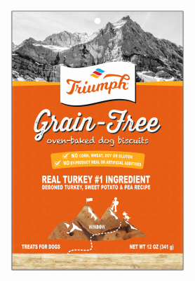 Sunshine Mills 00904 Dog Biscuits, Grain-Free Turkey Sweet Potato Pea, 12-oz. -