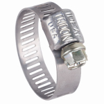 Norma Group/Breeze 3704 Mini Hose Clamp, Stainless-Steel, 7/32 x 5/8-In.