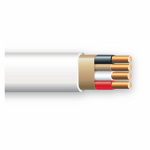 Southwire/Coleman Cable 63946855 Non-Metallic Sheathed Cable With Ground, Copper, 14/3, 250-Ft.