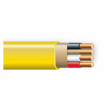 Southwire/Coleman Cable 63947655 Non-Metallic Sheathed Cable With Ground, Copper, 12/3, 250-Ft.