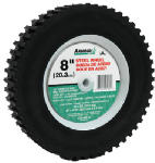 Arnold 490-322-0006 8-Inch Steel Ball-Bearing Cog Offset Replacement Lawn Mower Wheel