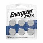 Eveready Battery 2032BP-6 Lithium Batteries, 2032, 6-Pk.