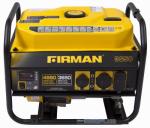 Firman Power Equipment P03601 3650 Watt Portable Generator, Recoil Start, 14 Hour Run Time