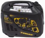 Firman Power Equipment W01781 1700/2100W Portable Inverter Generator, 10 Hour Run Time