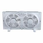 """Foshan Bailijian Technology WDF9-1D HP 9""""3SPD Twin Wind or Window Fan"""