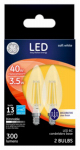 G E Lighting 23155 GE2PK3.5W LED BC Bulb
