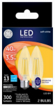 G E Lighting 23179 GE2PK 3.5W LED BM Bulb