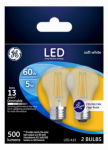 G E Lighting 23444 GE 2PK 5W LED Fan Bulb