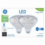 G E Lighting 24212 LED Light Bulb, Par 38, 15-Watts, 2-Pk.