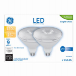 G E Lighting 24271 LED Light Bulb, Par 38, 16-Watts, 2-Pk.