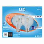 G E Lighting 28942 GE 2PK 4W Day G25 Bulb