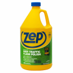 Zep ZUHTFF128 High-Traffic Floor Finish, 1-Gal. Concentrate