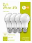G E Lighting 32577 4PK 6W SW A19 Bulb