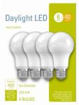 G E Lighting 32583 4PK 6W Day A19 Bulb