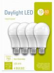 G E Lighting 32589 LED Light Bulbs, A19, Daylight, 10-Watts, 4-Pk.