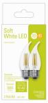 G E Lighting 32598 2PK 4W CLR or Clear or Cleaner Medium Bulb