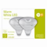 G E Lighting 32604 2PK 15W Par38 Bulb