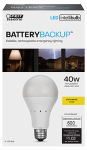 Feit Electric A800/827/BAT/LEDI 8.5W A19 Back Up Bulb