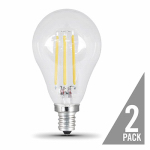 Feit Electric BPA1560C/850/LED/2 2PK 7.5W CLR or Clear or Cleaner A15 Bulb