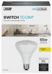 Feit Electric BR30/827/3DIM/LEDI 9.5W Br30 Intelli Bulb