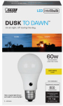 Feit Electric A800/827/DD/LEDI 9.5W A19 Dust/Dawn Bulb