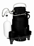 Pentair Water MCI050 MP 1/2HP Cast Iron Sump Pump