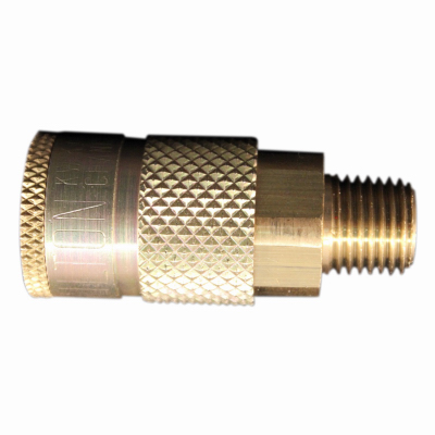 Milton Industries S-786 Compression Coupler, T-Style, Male, 1 4-In. NPT -